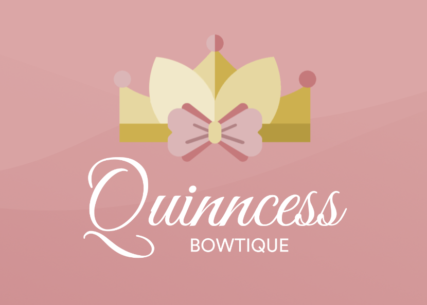 Quinncess bowtique web design branding